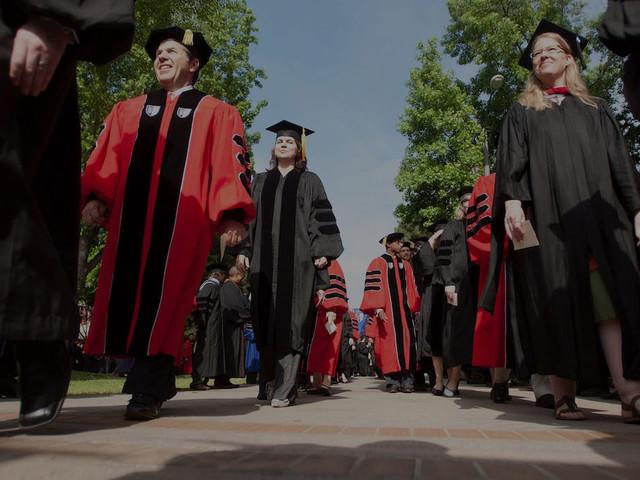 Claremont Graduate Graduation Ceremony